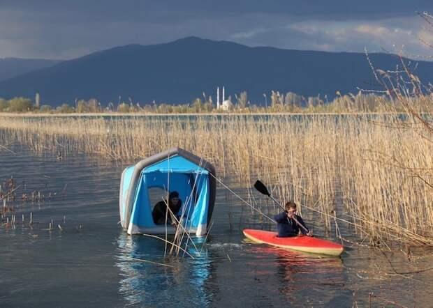 GT ROOF- первая в мире надувная палатка для автомобиля