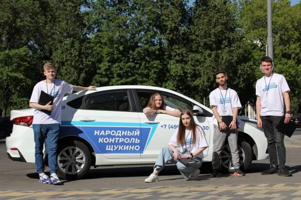 Волонтёры из Щукина помогают району стать лучше