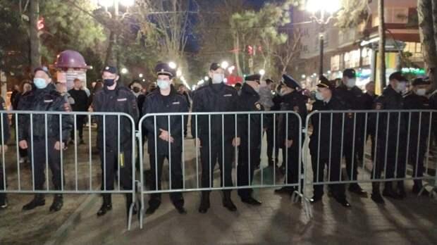 После несанкционированного митинга вРостове арестовали семь человек