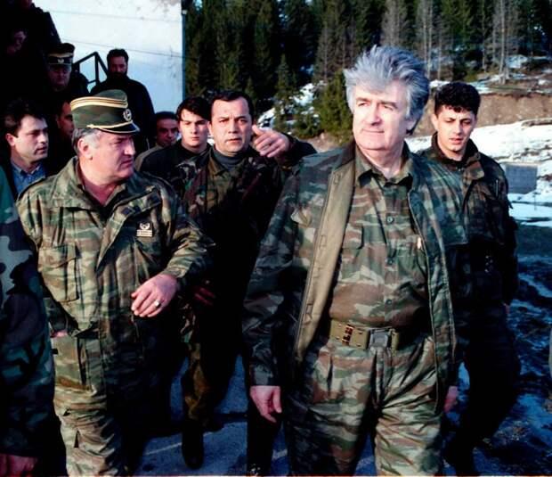 Караджич говорил мне: «Я спас сербов от геноцида, Бог знает, что мы правы» Караджич, сербия