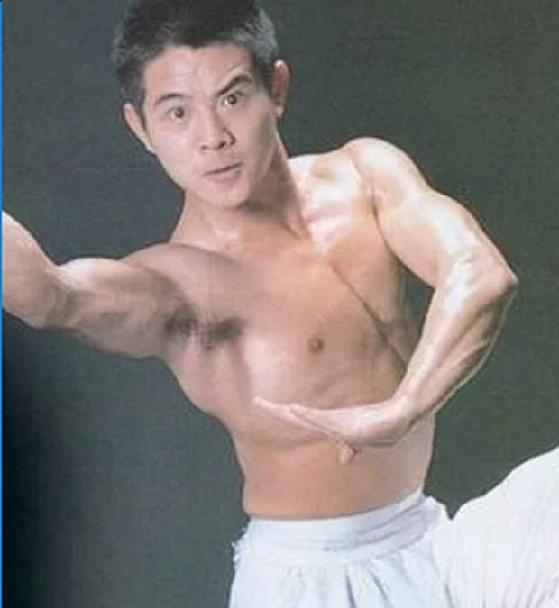 Джет Ли: форма в молодости и сейчас.