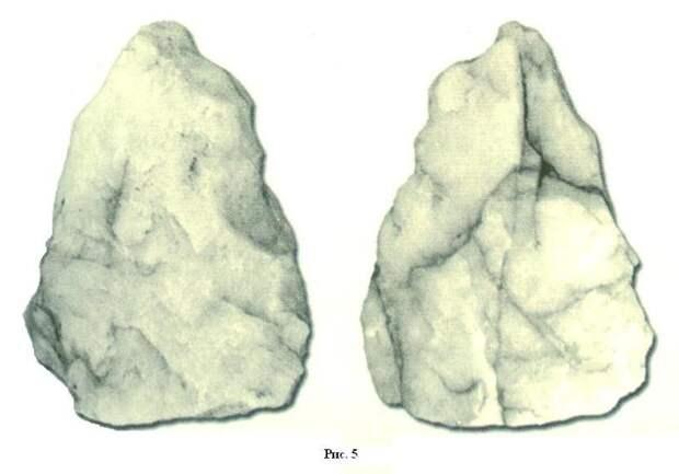 Надпись на вольфрамовой пружинке возрастом в 100 тысяч лет