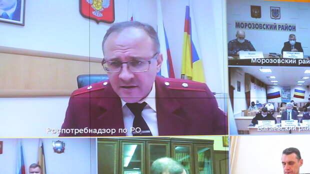 Роспотребнадзор выступил против снятия ограничений поCOVID-19 вРостовской области