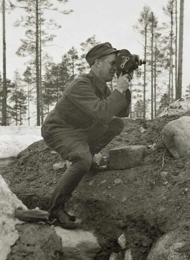Мгновение войны. Смерть на передовой, 1943 г. (фото)