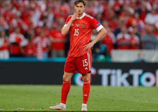 Сборная России проиграла Дании и покинула  Евро-2020
