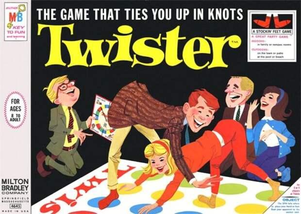 История игры «Твистер»