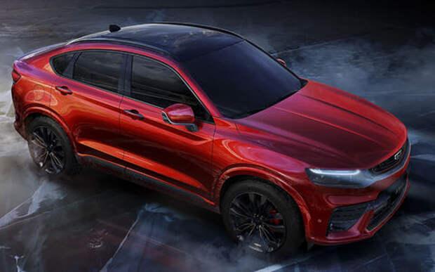 Geely рассекретила конкурента Renault Arkana