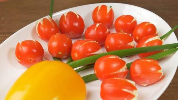 Этим салатом-закуской «Тюльпаны» вы покорите всех за столом