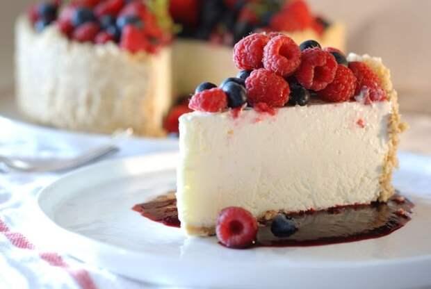 торты без выпечки, десерты без выпечки