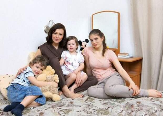 Мама и её дети./ Фото: znamenitka.ru