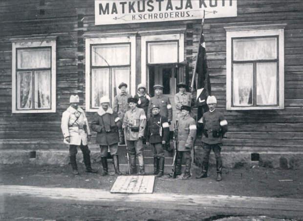 Гражданская война в Финляндии и русская армия. 1918 г.