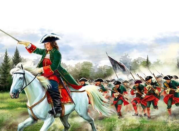 Полтавской битвой