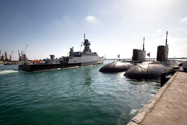 В США заявили, что не будут настаивать на уходе ВМФ России из Сирии