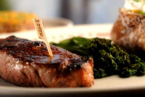 Правильная подача мяса. | Фото: Тортомарафон.