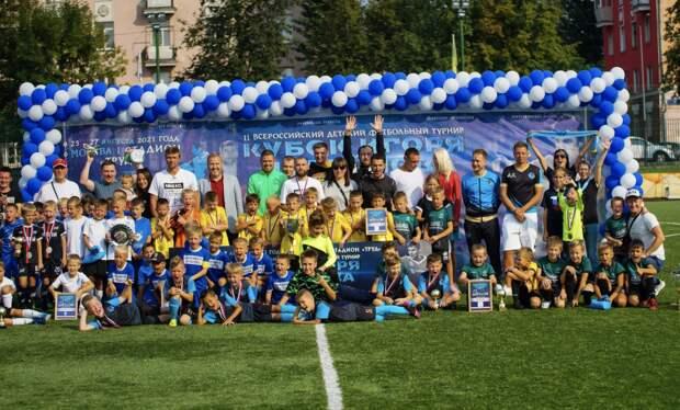Стадион «Труд» в Капотне принял финал Кубка Игоря Чугайнова