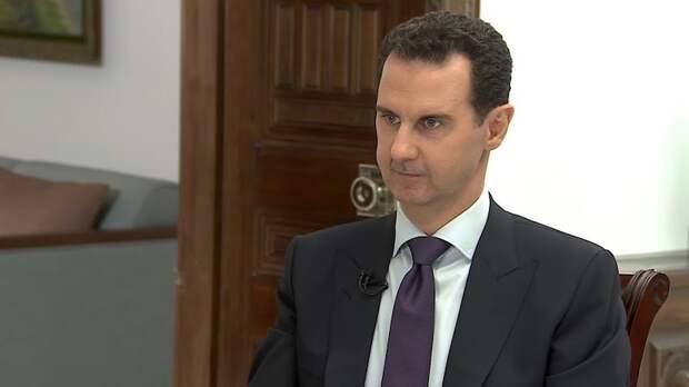 Асад поздравил россиян с Новым годом