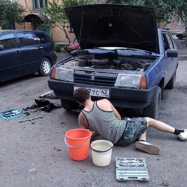 А все выходные можно было провести под любимой ласточкой автопром, первая любовь, россия