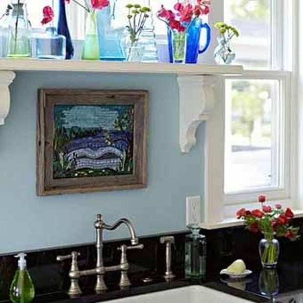 как рационально использовать окно на кухне
