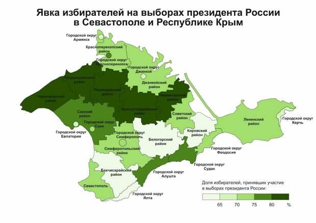 Выборы 2018: Общие тенденции, явка и рекорды электоральной активности в Крыму 4