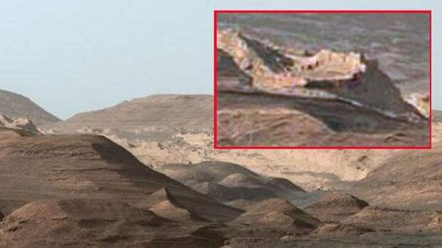 Уфологи отыскали руины города наМарсе