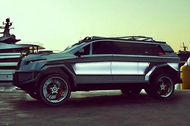 Dartz Black Shark авто. интересное, автомир, бронемашины, броня, самые-самые, факты