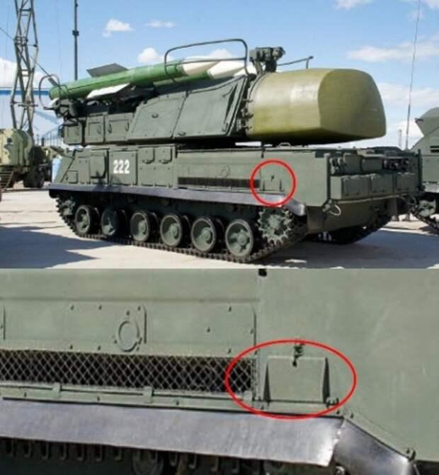 СОУ ЗРК «Бук» модификации 9А310М1-2 с откидной площадкой