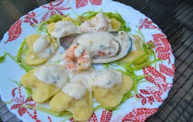 Равиоли-сердечки с изысканной начинкой. Рецепт итальянского блюда