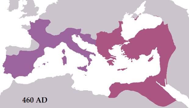 Империи при Льве I.