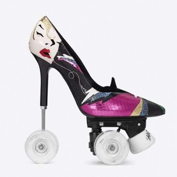 Модная новинка - шпильки на колесиках