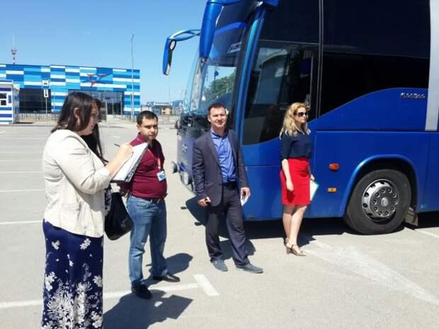 В Симферополе проведён осмотр пассажирских автобусов (ФОТО)