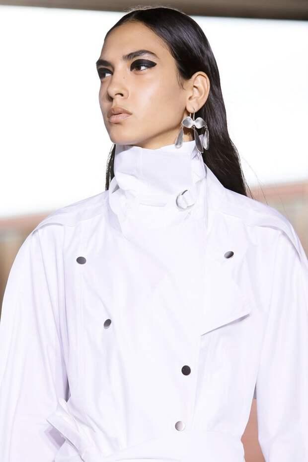 Косынки из кожи, которые все будут носит весной —  на показе 3.1 Phillip Lim (фото 12.1)