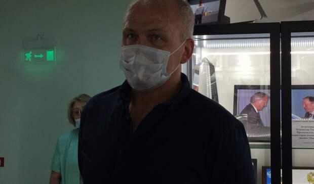 «Госпиталь направильном пути»: сын Тетюхина рассказал опланах набудущее