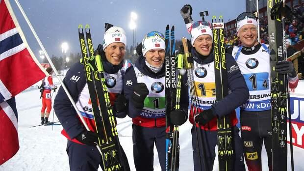 Норвежские биатлонисты неподписали контракт сфедерацией. Они хотят денег, как ирусские