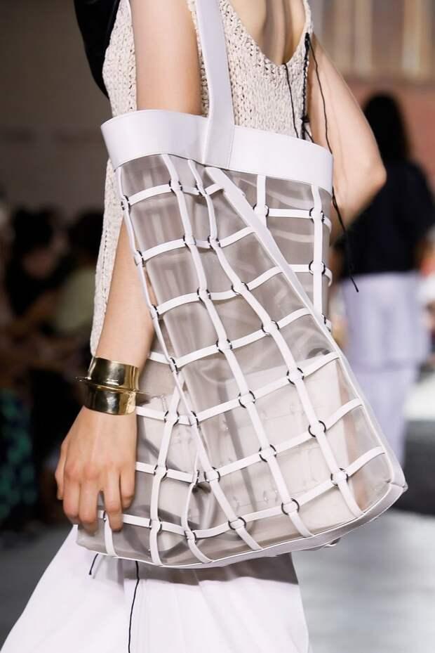 Косынки из кожи, которые все будут носит весной —  на показе 3.1 Phillip Lim (фото 12.2)