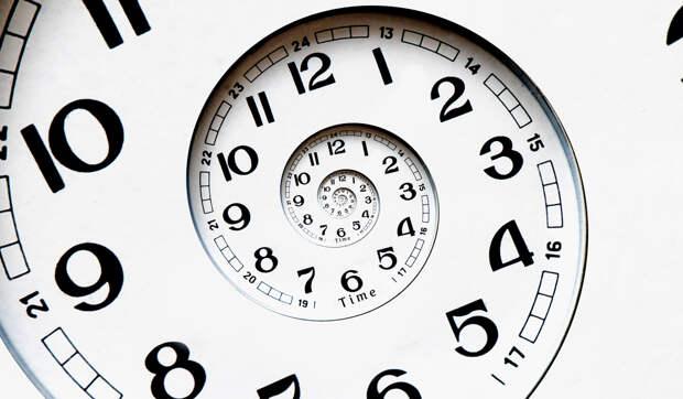 запутанное время