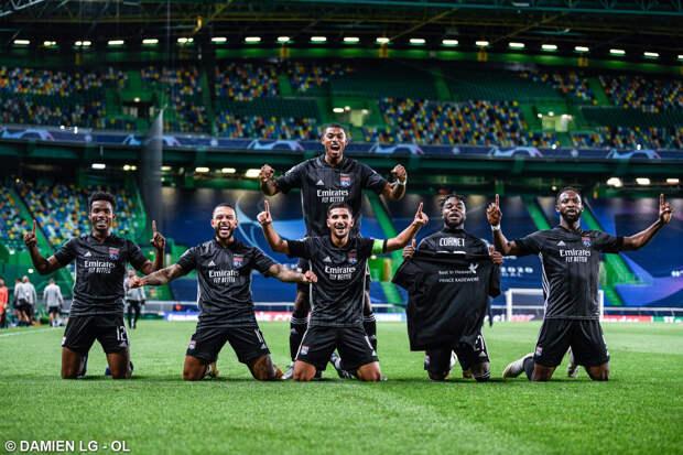 «Лион» вышел в полуфинал Лиги чемпионов после победы над «Манчестер Сити»