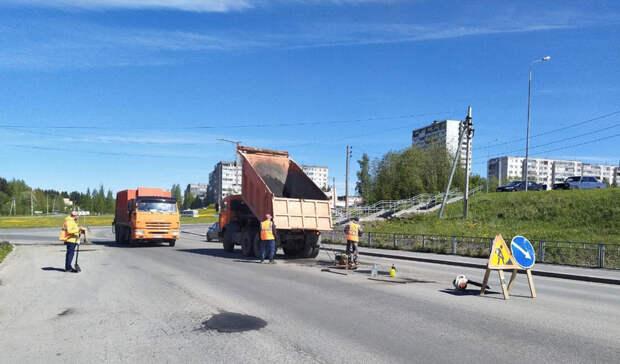 Дорожникам в Петрозаводске запретили работать по ночам