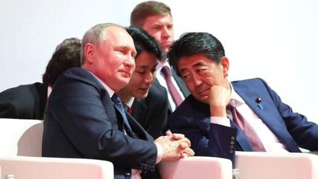 Путин и Абэ провели большое количество переговоров