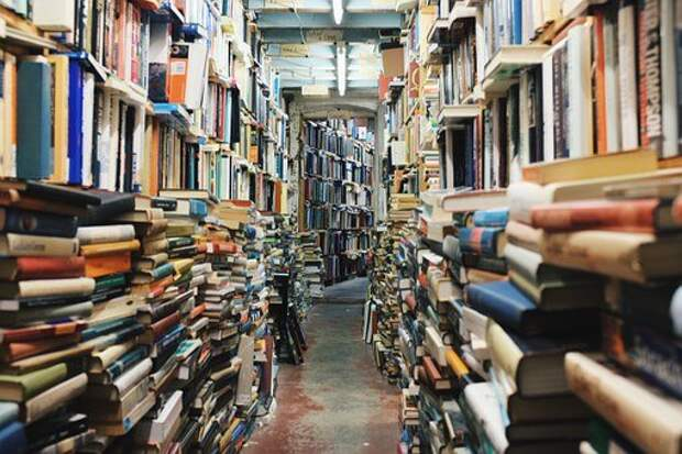 Книг, Стек, Библиотеки, Книжные Полки