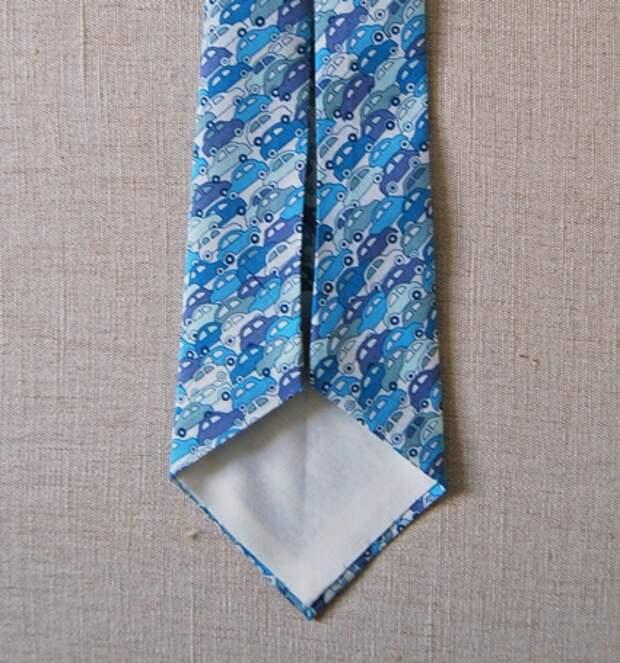 Выкройка галстука (Diy)
