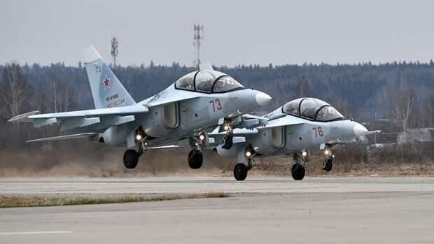 Учебно-тренировочные самолеты Як-130 ВВС России