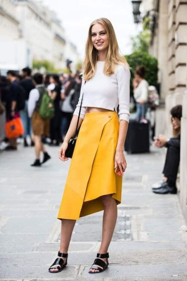 Этот модный фасон юбки не зря становится таким популярным!