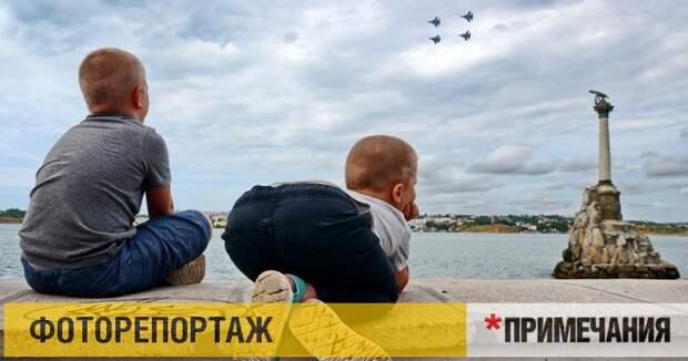 Истребители над Севастополем: как это выглядело вблизи
