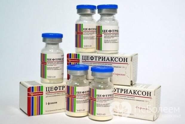 При терапии гайморита в тяжелом течении назначаются цефалоспорины для внутривенного или внутримышечного введения