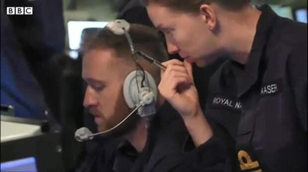 Журналист Би-би-си показал видео с эсминца Defender у берегов Крыма