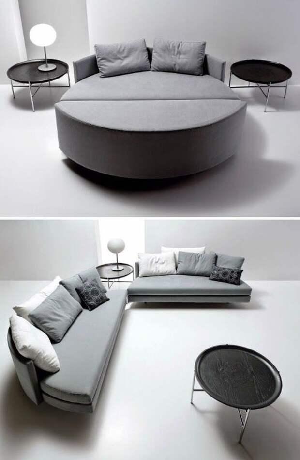 Модульная мягкая мебель (подборка)