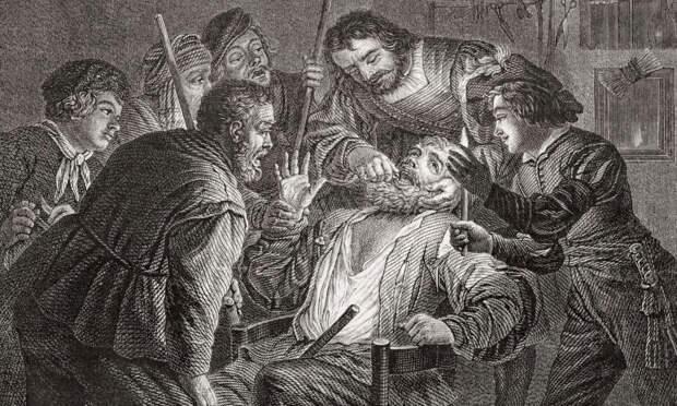 Стоматология в средневековье