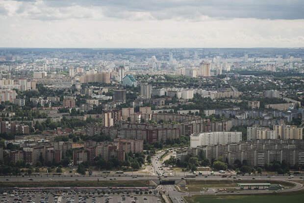 Музей авиации и Минск с высоты птичьего полета