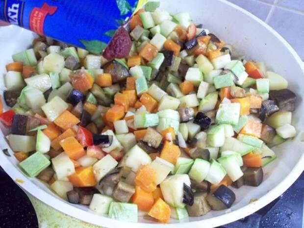 РАЗРЕШЕНО ХУДЕЮЩИМ. Овощное рагу с баклажанами и кабачками