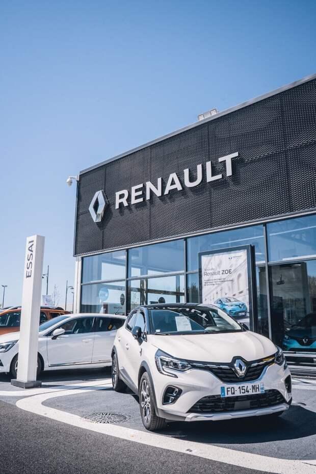 Renault увеличила продажи автомобилей на 1,1% в первом квартале этого года.